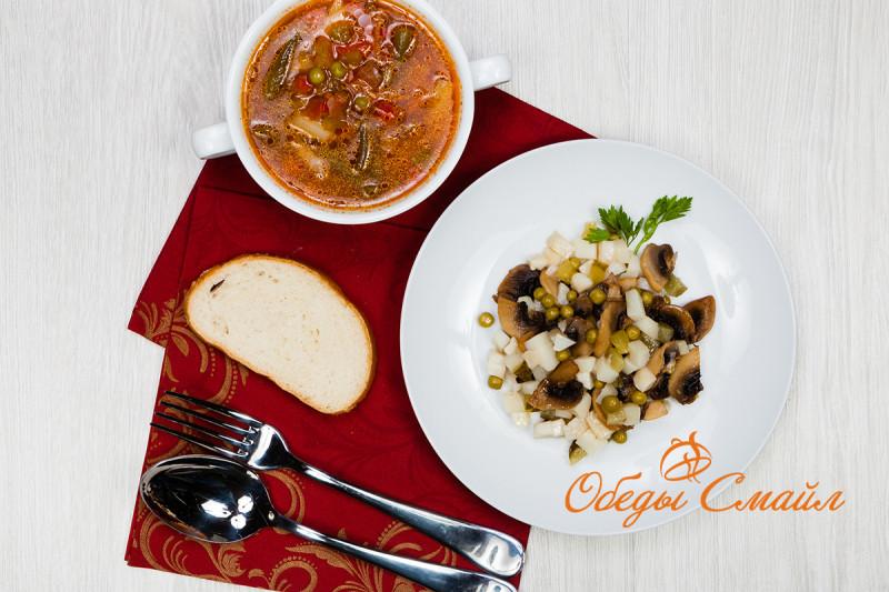 Обед Вегетарианский по-Деревенски